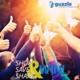 Guzzle shop save share
