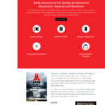ANSO PE website design