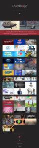 Cherribomb Films website design