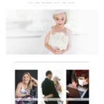 Claire Thomson Photography website design