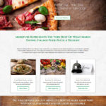 Morituri Restaurant website design