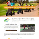 Kasi Segway Tours website design