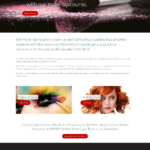 The Make Up Issue website design