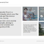 Kew Community Trust website design