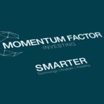 Momentum Factor Investing Logo Design
